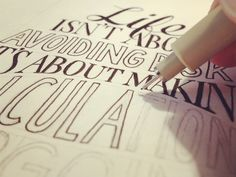 Learn Hand Lettering – Step 9