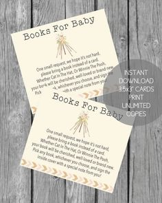 Printable Books For Baby Cards - Boho Teepee Baby Shower Theme - Baby Shower Games Free Baby Shower Printables, Free Baby Shower Games, Baby Girl Shower Themes, Baby Shower Activities, Boho Baby Shower, Baby Boy Shower, Free Printable, Baby Shower Gift Bags, Baby Shower Prizes