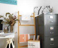 Mi espacio de trabajo estilo nórdico low cost : vía La Garbatella