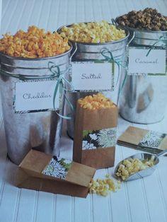 Gourmet Popcorn Buffet...