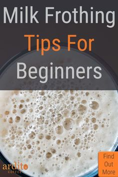 Milk frothing tips for beginners and advanced coffee makers alike. Lactose Free Milk, Lactose Free Recipes, Milk Recipes, Coffee Recipes, Best Iced Coffee, Iced Coffee Drinks, Keurig Recipes, Cappuccino Recipe, Coffee Shop Aesthetic