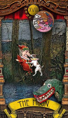 The Tarot of Mister Punch: La Lune