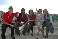 Cheetah Girls w/ Disney Channel Host and ABD Guide (toadheaven) Tags: barcelona spain disneychannel cheetahgirls adventuresbydisney