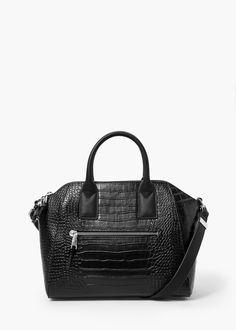 Zip tote bag - Bags for Women | MANGO 60 euro