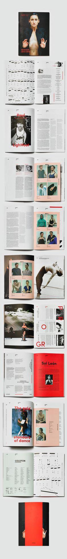 Nederlands Dans Theater by Studio Beige, via Behance