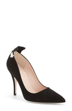 kate spade new york 'logan' pointy toe pump (Women) available at #Nordstrom