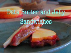Date Butter and Jelly Sandwiches. Low fat raw vegan, gluten free, fat free, delicious!