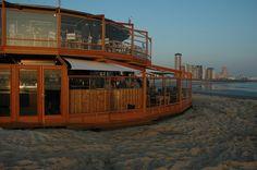 Toplocatie, het strandpaviljoen Panta Rhei strandbar, via Flickr