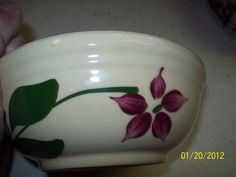WATT Pottery Starflower Bowl Number 1 by rooster731 on Etsy, $26.99