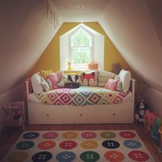 Attic Room Nursery Ikea Hemnes Daybed