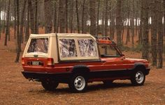 Talbot Matra Rancho. They recruited a draughtsman who was with Reliant in the 1950's to pen this. What a joke