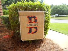 Auburn Fan Garden Flag $20 Flag Only Like And Order On Sew And Initial It On