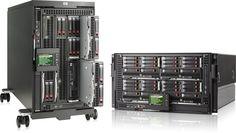 HP BladeSystem C-Class C3000 Enclosures.