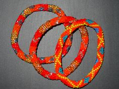 Fair trade, neon roll on colored bracelets from #Nepal! Sold @ #LFMustardSeed.