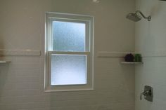 Having a window in the shower area is not an ideal thing. Depending on the view that you have looking out – people standing outside will most likely have a similar view looking in. And hanging up a blind or a shade may not be an option due to moisture issues. Having just gone through …