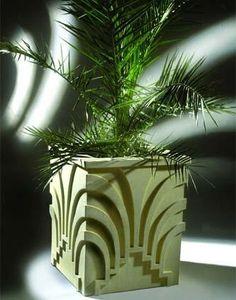 Art Deco planter