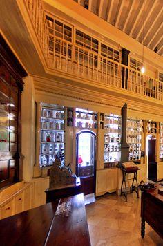 Farmacia Francesa Triolet  Museo Farmacéutico de Matanzas Cuba © 2012 Carlos Alberto Fleitas Matanzas Cuba, Cruises To Cuba, Cuba Travel, Cruise Port, Havana Cuba, Central America, Cuban, Pharmacy, Havana