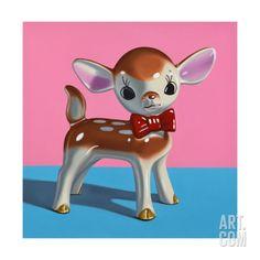 Dapper Deer Art Print by Cassie Marie Edwards - X-Small Cheap Wall Decor, Popular Art, Oh Deer, Cassie, Pretty Pictures, Find Art, Framed Artwork, Giclee Print, Original Art