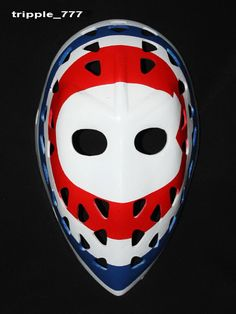 Hockey mask, Hockey goalie, NHL ice hockey, Roller Hockey, Hockey goalie mask, Hockey helmet Montreal Ken DRYDEN Mask HO08