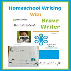 Homeschool Writing With Brave Writer - a full language arts and writing program to use in your homeschool.