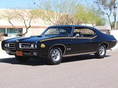 Starlight Black 1969 GTO Judge