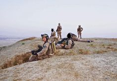 DEVGRU Red SQDN (SCPO) Rob O'Neill and rest of the Team ready for extract south of Gardez Paktia Province of Afghanistan 2009. [21601504]
