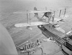 Stock Photo - The Royal Navy during the Second World War A Supermarine Walrus amphibious aircraft at the end of its catapult, about to be launched from HMS MAURITIUS Amphibious Aircraft, Ww2 Aircraft, Royal Navy, Us Navy, History Online, Flying Boat, Catapult, Mauritius, World War Two