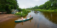 Mention canoeing on Wisconsin streams to most folks, and they'll probably think of the Lower Wisconsin River. But if paddlers want to expand their horizons a bit, there are plenty of other rivers in Wisconsin ideal for exploring.