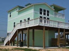 26 best galveston beach houses images beach cottages beach front rh pinterest com