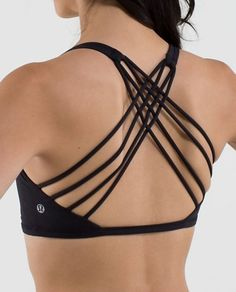 free to be *wild | women's low support bras | lululemon athletica