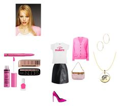 """""""regina george"""" by effyswanhaze ❤ liked on Polyvore featuring Yves Saint Laurent, Chicwish, L'Oréal Paris, NYX, Toga, tenoverten and Maria Francesca Pepe"""