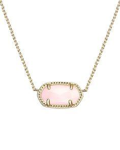 Elisa Pendant Necklace in Rose Quartz - Kendra Scott Jewelry