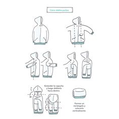 Is it still parka weather where you live? If so, use this guide to fold them nice and tidy ✨⠀ ⠀ It's been very warm in London the past couple of days where we're holding the KonMari Consultant Seminar this weekend. Head over to my stories to see more from Closet Organisation, Room Organization, To Do Planner, Tidy Up, Clothing Hacks, Getting Organized, Clean House, Cleaning, Decluttering