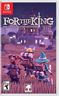 For The King for Nintendo Switch - Nintendo Game Details Nintendo Switch Games, Nintendo Ds, Ever After High Games, Lego, Nintendo Switch Accessories, Kings Game, Cute Games, Games Images, Gamers