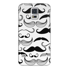 Samsung Galaxy / LG / HTC / Nexus Phone Case - Mustache ($40) ❤ liked on Polyvore featuring accessories, tech accessories, phone cases and android case
