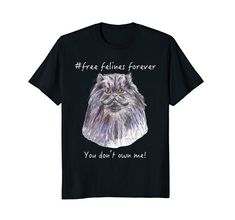 Forever Yours, Branded T Shirts, Fashion Brands, Whimsical, Wisdom, Portraits, Cat, Amazon, Mens Tops