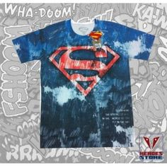 "T-shirt Superman ""Galaxy"""