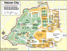 Vatican City Atlas: Maps and Online Resources   Infoplease.com