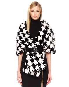 michael kors houndstooth wrap - Google Search