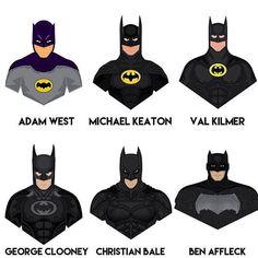Who's your favorite Batman?  #comicsandcoffee