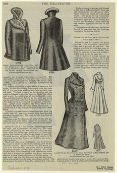 1900 double breasted long coat with hood!
