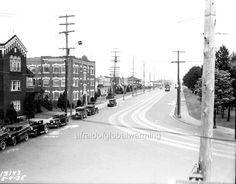 Photo 1935 Seattle WA 50th Phinney Autos Streetcar | eBay