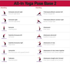 All-in Yoga pose base page 2