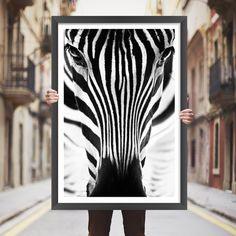 Placa decorativa zebra - StickDecor | Decoração Criativa