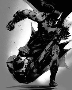 Batman Universe, Comics Universe, Comic Books Art, Comic Art, Assassins Creed Art, Dark Knight Returns, Great Works Of Art, Batman And Superman, Spiderman