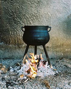 Cauldron id love to cook stews in it outside for fall/winter parties