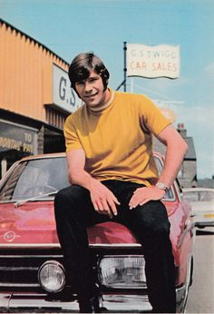 Summer 1971. Newcastle United summer signing Malcolm MacDonald, who cost the club £180,000 from Luton Town. Here, MacDonald returns to the car dealership he was still forced to run in Berkshire.