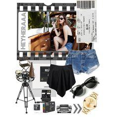 """Film"" by heyheraaa on Polyvore"