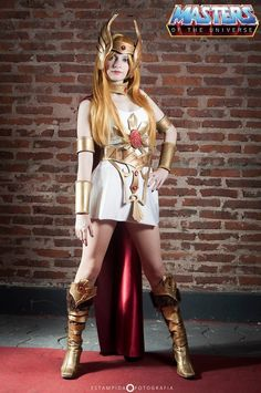 #Cosplay Masters of the Universe: She-Ra by IssssE on deviantART