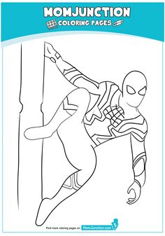 The Spiderman Ready Coloring Page Coloring Sheets, Coloring Books, Coloring Pages, Colouring, Spiderman Coloring, Kung Fu Panda 3, Facebook, Kids, Spiderman Face